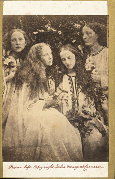 Julia Margaret Cameron, 'The Rose Bud Garden of Girls (Mrs. G. F. Watts and Sisters)', 1868/1870c