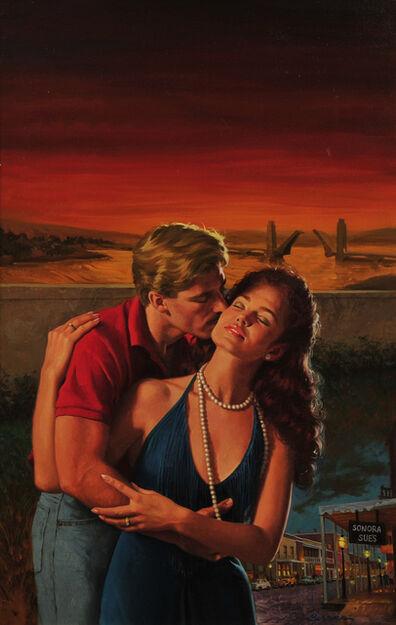 """Robert Berran, '""""Love in Tandem""""', 1987"""