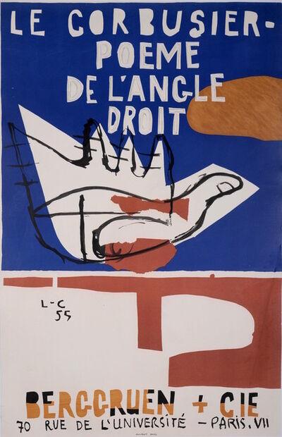 Le Corbusier, 'Poeme de l'Angle Droit', 1955