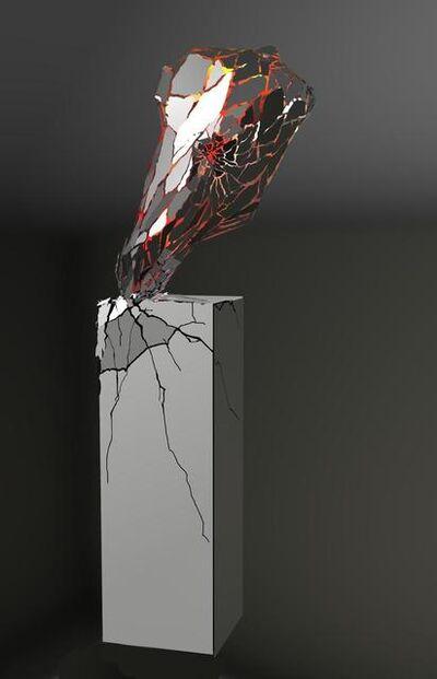 Li Hui, 'Broken Heart', 2014