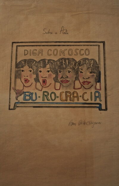 Anna & Bernhard Blume, 'Bu-Ro-Cra-Cia', 1976