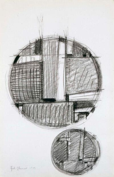 Fritz Glarner, 'Tondo with Echo', 1959