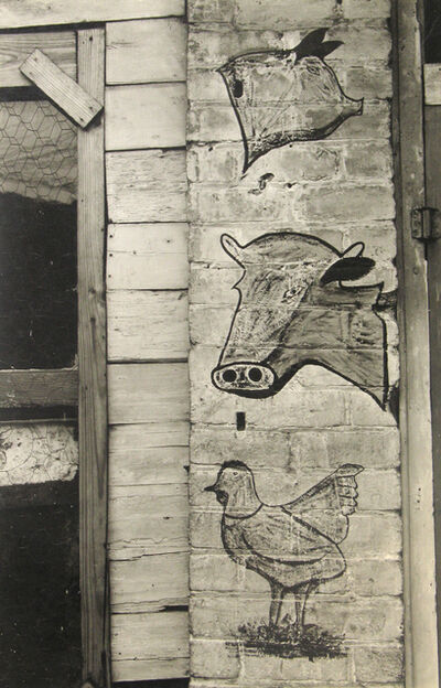 Peter Sekaer, 'Butcher's Sign, Savannah, Georgia', c.1936