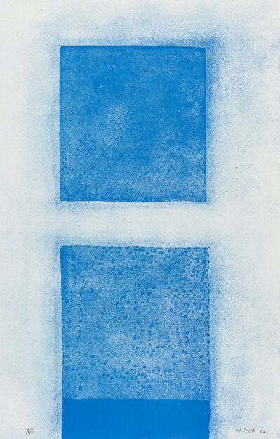 William Scott, 'Cobalt Predominates', 1972