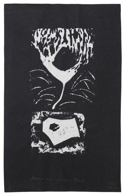 Méret Oppenheim, 'Baum an einem Grab', 1959