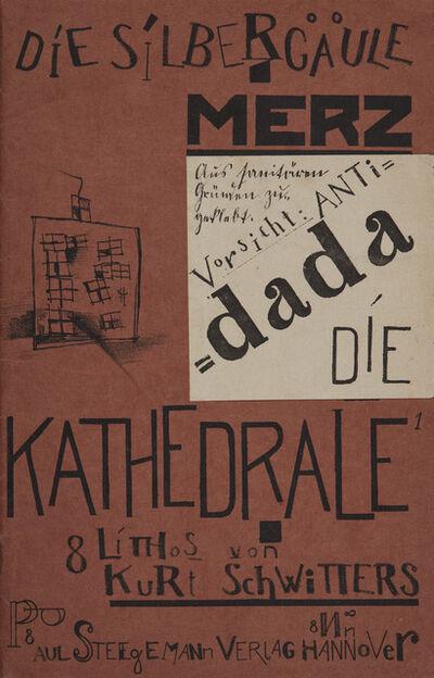 Kurt Schwitters, 'Die Kathedrale, Book 41/42 from Die Silbergäle, Paul Steegemann, Verlag, Hanover, 1920'