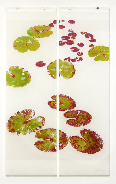 Jeri Eisenberg, 'Altered Water Lilies No. 1', 2019