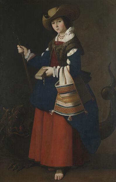 Francisco de Zurbarán, 'Heilige Margareta von Antiochien', 1630-1634