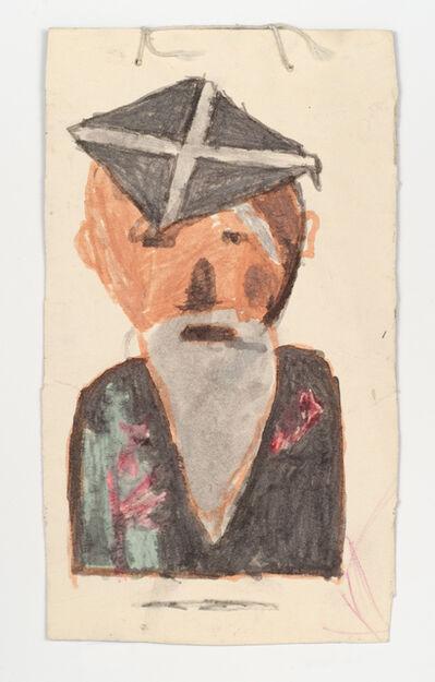 James Castle, 'Untitled (Professor)', n.d.
