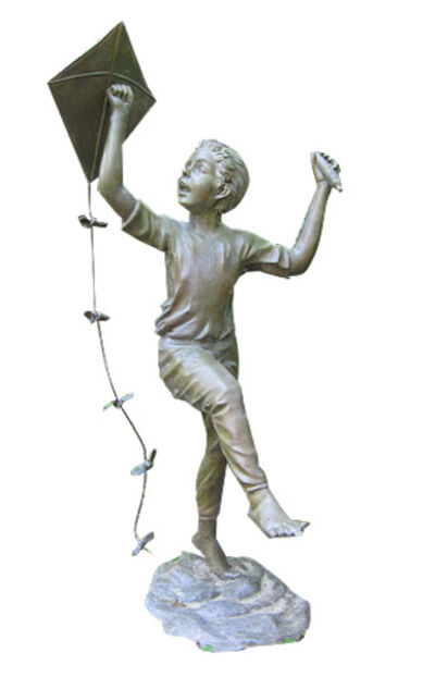 Auguste Moreau, 'Boy With Kite', 2001