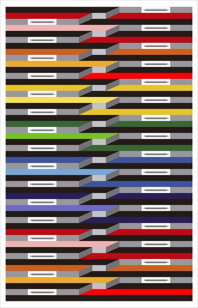 Juvenal Ravelo, 'Fragmentacion de la Luz y el Color II', 2018