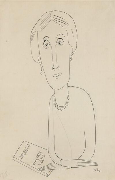 Adolph Hoffmeister, 'Virginia Woolf', 1929