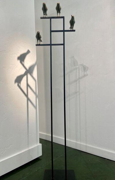 Gwynn Murrill, '4 Birds', 2020