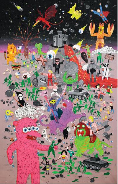 Laurina Paperina, 'War Game', 2015