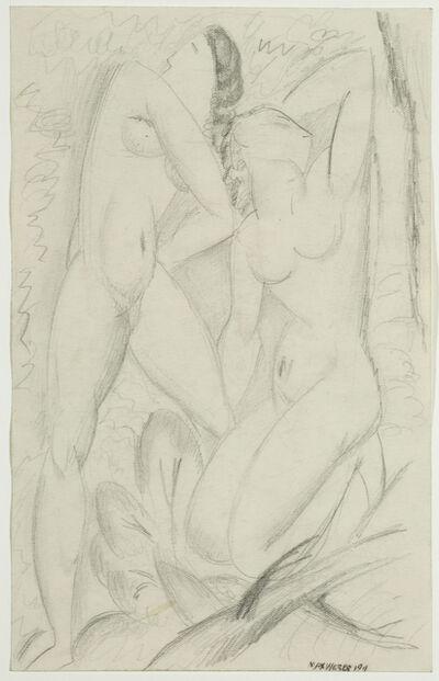 Max Weber, 'Cubist Nudes', 1911
