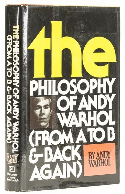 Andy Warhol, 'The Philosophy of Andy Warhol', 1975