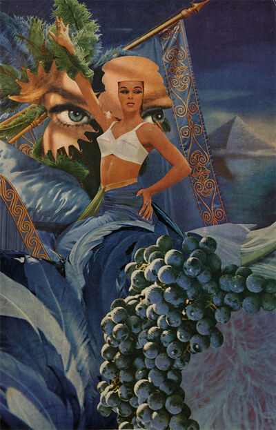 Jean Conner, 'BLUE PYRAMID II', 1978