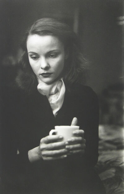 Saul Leiter, 'Jean with Cup', 1948
