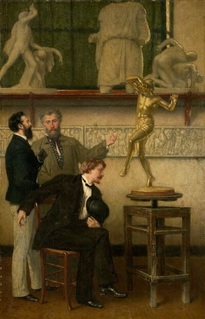 Artist Unknown, French, 19th Century, 'Artist in his Studio', 1877