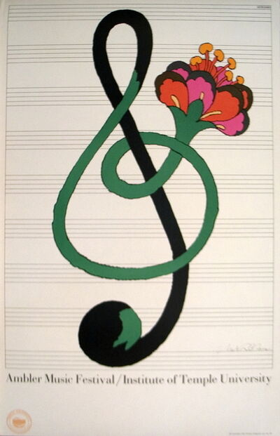 Milton Glaser, 'Ambler Music Festival', (Date unknown)