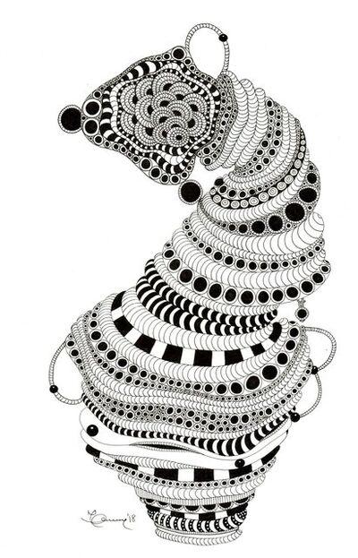 Marian Fannon Christian, 'Snake Pot', 2018