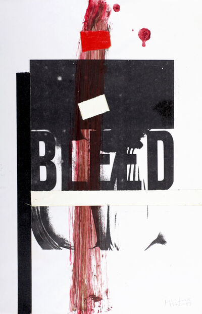 Boris Lurie, 'Bleed '