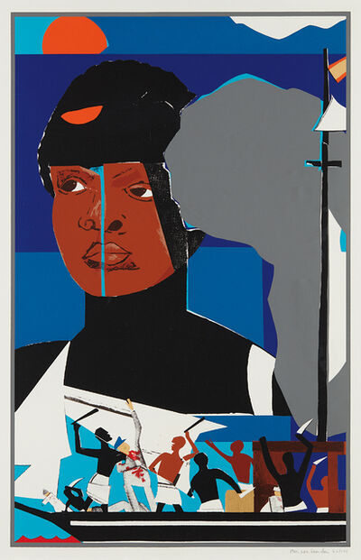 Romare Bearden, 'Slave Ship', 1972