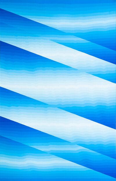 Marjorie Shaw Kubach, 'Transition/ Blue', 1981