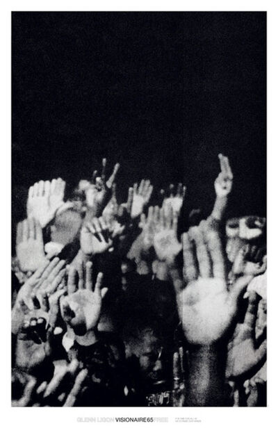 Glenn Ligon, 'It Is Time For All Of Us To Raise Our Hands poster', 2016