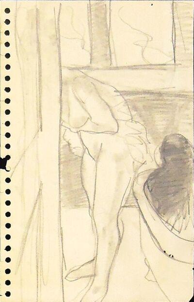Sidney Goodman, 'Bathroom Figures', ca. 1964