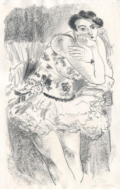 Henri Matisse, 'Danseuse debout, accoudée', 1925-1926