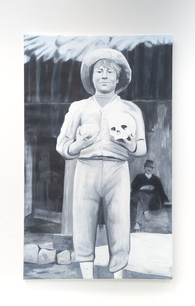 Wilson Diaz, 'Boy from the Berlin Museum of Ethnology', 2021