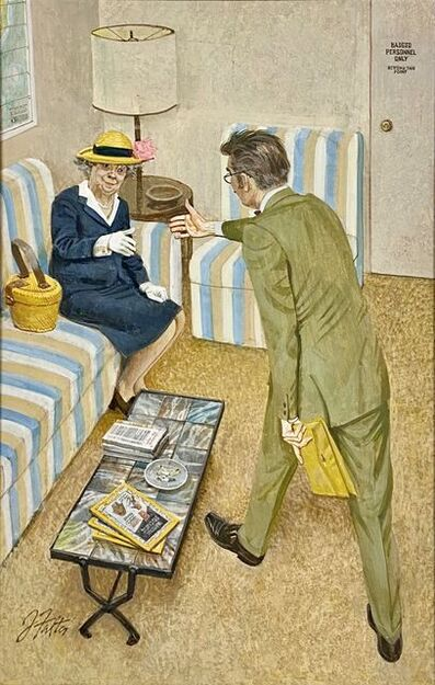 """John Philip Falter, '""""Excellent. Have you ever been to Mexico?""""', 1970"""