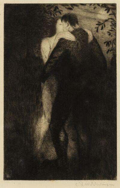 Christopher Richard Wynne Nevinson, 'Lovers (Black 62)', 1919