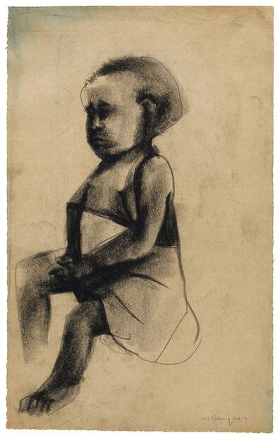 Martin Puryear, 'Untitled (Sitting Girl)', 1964-1966