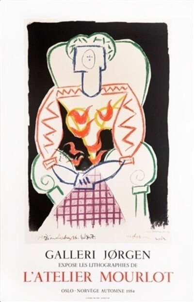 Pablo Picasso, 'Galerie Jorgen', 1974
