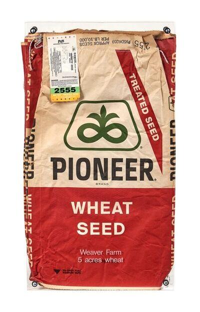 Kate Ericson and Mel Ziegler, 'Feed and Seed (Weaver Farm, Buckwheat)', 1991