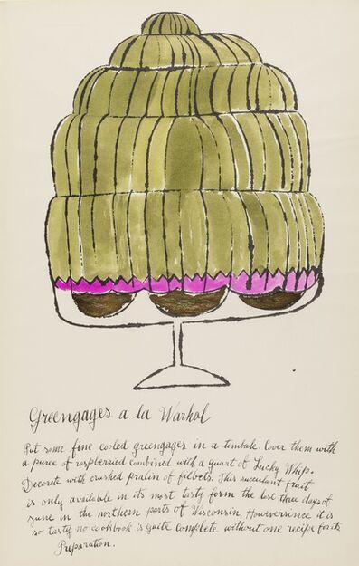 Andy Warhol, 'Greengages a la Warhol (from Wild Raspberries) (see Feldman & Schellmann IV.143.A)', 1959