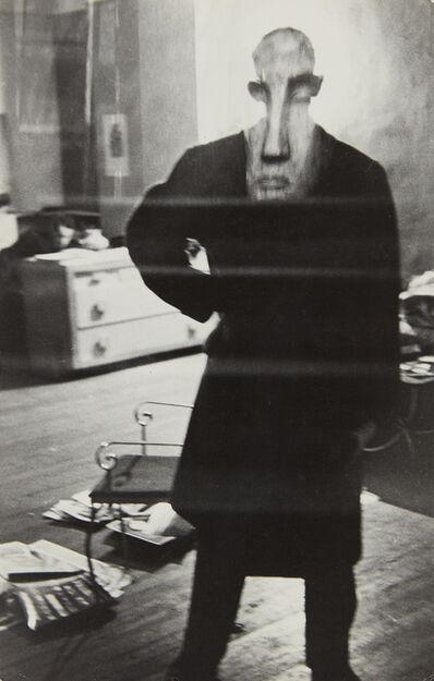 Louis Faurer, 'George Barrows in Robert Frank's Loft, New York', 1947-1949
