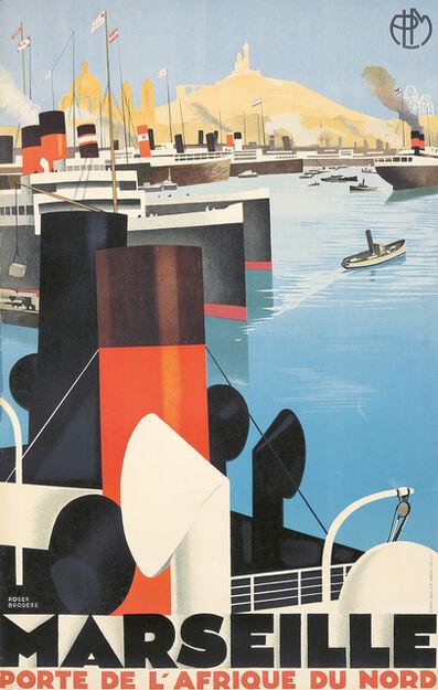 Roger Broders, 'Marseille / Porte de l'Afrique du Nord', 1929