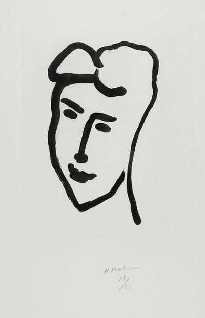 Henri Matisse, 'Visage de jeune femme', 1948