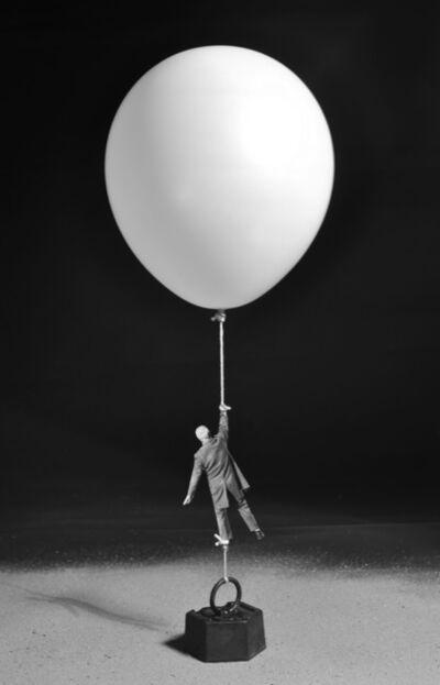 Gilbert Garcin, '438 - Icare contrecarre', 2012