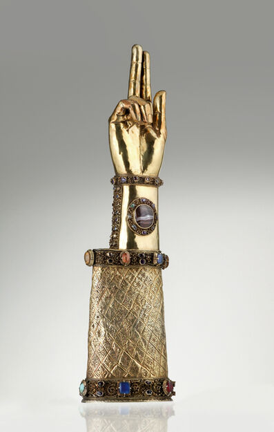 Unknown Artist, 'Arm Reliquary of St. Elizabeth, Central Germany', Second half of 13th century