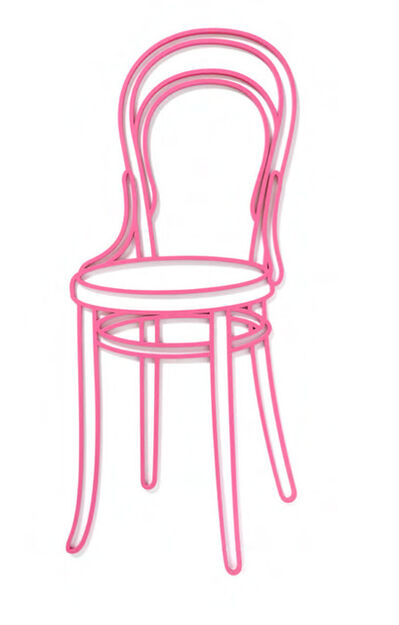 Michael Craig-Martin, 'Thonet Chair', 2019