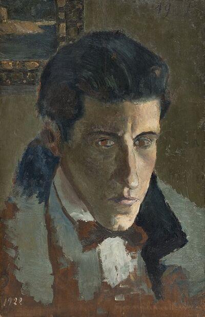 Gianfilippo Usellini, 'Ritratto di Mario Tozzi', 1922