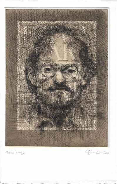 Tom Phillips, 'Salman Rushdie', 1993