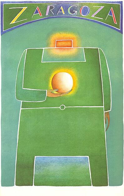 Jean Michel Folon, 'Zaragoza', 1982