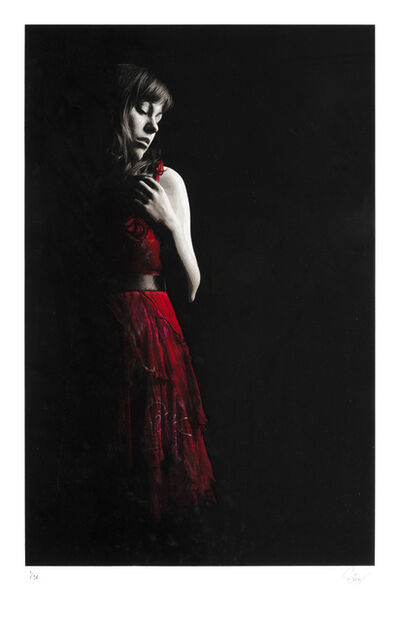 Snik, 'The Girl In The Red Dress', 2016