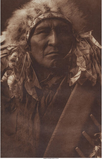 Edward Sheriff Curtis, 'Bread - Apsaroke', 1908