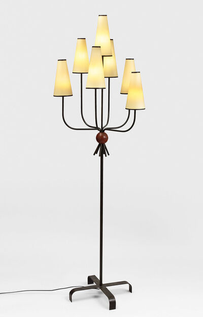 "Jean Royère, '""hirondelle"" floorlamp', ca. 1950"